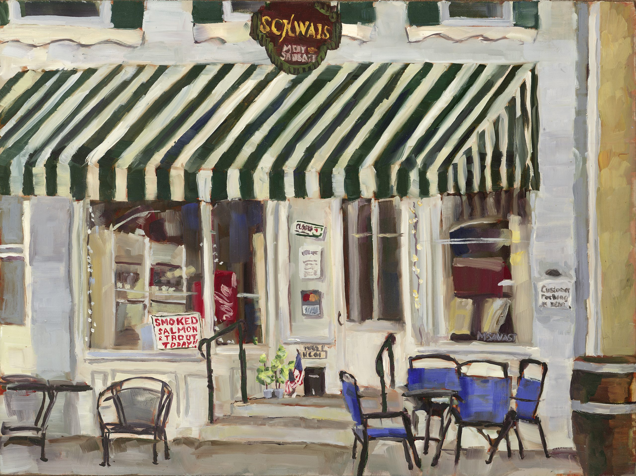 Closing Time, 16x12, Oil - Available (Original or Prints)